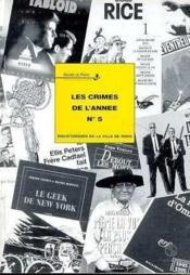 Les crimes de l'année t.5 - Couverture - Format classique
