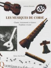 Musiques de corse - Couverture - Format classique