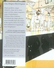 Les anges électriques - 4ème de couverture - Format classique