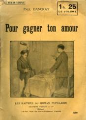 Pour Gagner Ton Amour. - Couverture - Format classique