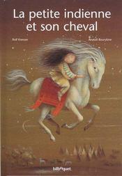 La petite indienne et son cheval - Intérieur - Format classique