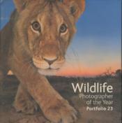 Wildlife Photographer Of The Year - Portfolio 23 - Couverture - Format classique