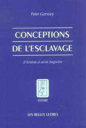 Conception De L'Esclavage - Intérieur - Format classique
