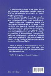 Conception De L'Esclavage - 4ème de couverture - Format classique