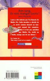 Bon Sang Ils Vont Manger Laura - 4ème de couverture - Format classique
