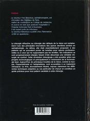 La Myopie - 4ème de couverture - Format classique