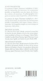 Agnes thurnauer - 4ème de couverture - Format classique