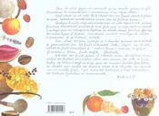 Desserts et gourmandises aux fruits - 4ème de couverture - Format classique