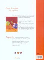 Cartes De Souhait Avec Perforatrices - 4ème de couverture - Format classique
