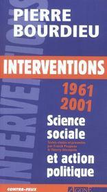Interventions 1961-2001 - Intérieur - Format classique