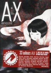 Ax Anthologie N.1 - Couverture - Format classique