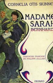 Madame Sarah Bernhardt. - Couverture - Format classique