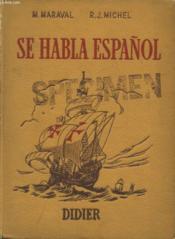 Se Habla Espanol - Couverture - Format classique