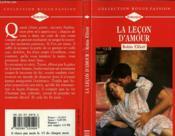 La Lecon D'Amour - Sophie'S Attic - Couverture - Format classique