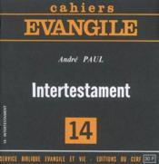 Intertestament (A. Paul), No 14 - Couverture - Format classique