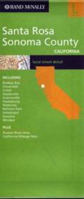 Streets Of ; Santa Rosa Et Sonoma Country ; California - Couverture - Format classique