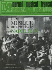 Journal Musical Francais N°184/185 - Couverture - Format classique