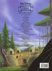 Pocahontas ; une légende indienne - 4ème de couverture - Format classique