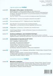 Revue Le Débat N.122 ; mémoires du XX siècle - 4ème de couverture - Format classique