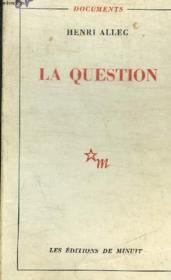 La Question - Couverture - Format classique