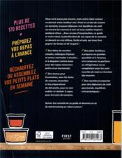 Le grand guide thermomix batch cooking - 4ème de couverture - Format classique