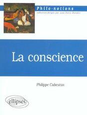 La Conscience - Intérieur - Format classique