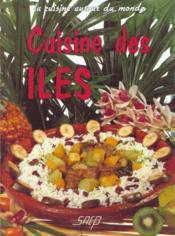 Cuisine des iles - Couverture - Format classique