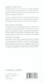Cabello - carceller - 4ème de couverture - Format classique