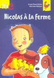 Nicolas a la ferme - Couverture - Format classique
