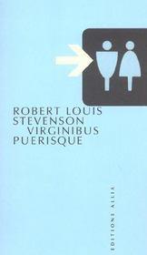 Virginibus puerisque - Intérieur - Format classique