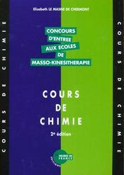 Cours De Chimie - Intérieur - Format classique
