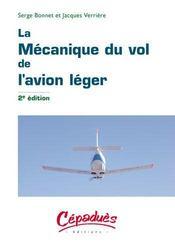 La mécanique du vol de l'avion léger (2e édition) - Intérieur - Format classique