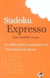 Sudoku expresso - Intérieur - Format classique
