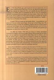Correspondance ; le visiteur apostolique, 1759-1760 t.3 - 4ème de couverture - Format classique