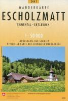 Escholzmatt Pedestre - Couverture - Format classique