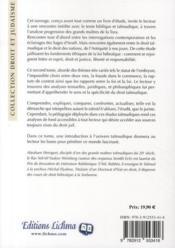 Rencontres t.2 ; droit talmudique et droit des nations - 4ème de couverture - Format classique