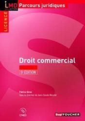 Droit commercial (5e édition) - Couverture - Format classique