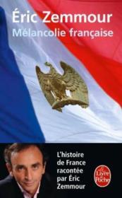 Mélancolie française - Couverture - Format classique