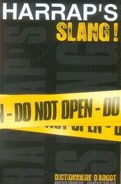 Harrap's slang ; francais-anglais - Intérieur - Format classique