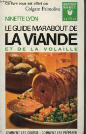 Le Guide Marabout De La Viande Et De La Volaille - Couverture - Format classique