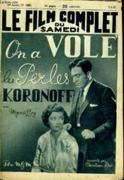 Le Film Complet Du Samedi N° 1897 - 16e Annee - On A Vole Les Perles Koronoff - Couverture - Format classique