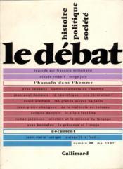 Revue Le Débat N.20 - Couverture - Format classique