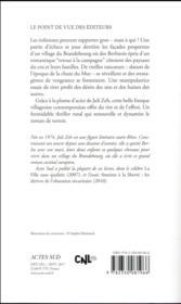 Brandebourg - 4ème de couverture - Format classique