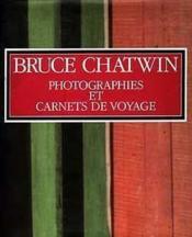 Photographies et carnets de voyage - Couverture - Format classique