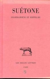 Grammairiens et rheteurs - Couverture - Format classique