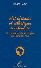 Art africain et esthétique occidentale - Couverture - Format classique