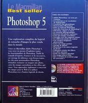Le Macmillan Photoshop 5 - 4ème de couverture - Format classique