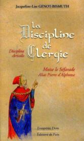 La Discipline De Clergie -Disciplina Clericalis - Couverture - Format classique