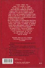 Pointes, piques et repliques de guy bedos - 4ème de couverture - Format classique