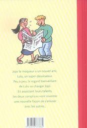Jojo et Lulu la fraise - 4ème de couverture - Format classique